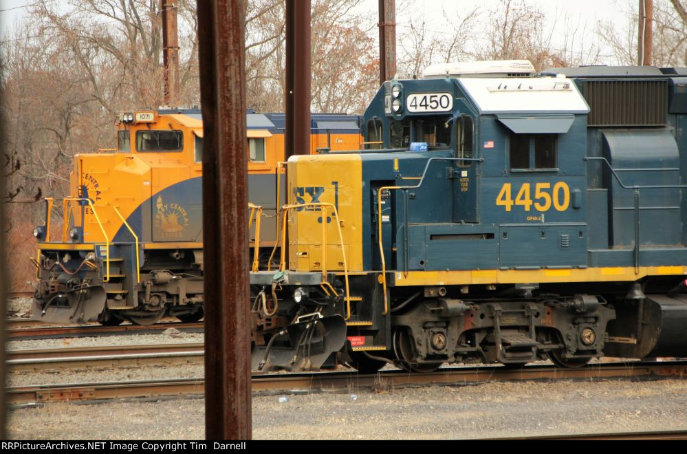 CSX 4450, NS 1071